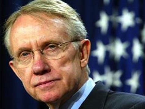 Harry Reid: We Need More Tax Increases