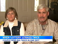 Couple Wins Lottery Twice In One Day