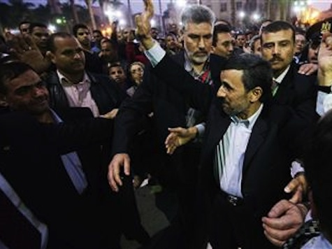 Ahmadinejad 'Shoe-d' In Egypt