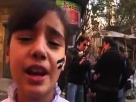 Footage of a Syrian Girl Injured by Bomb While Singing for Freedom Goes Viral