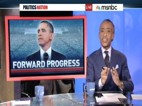All Hail: Sharpton's Creepy Obama 'Taking Control' Image