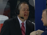 NHL Reporter Hit In Face With Puck