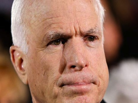 McCain: Obama 'Writing One Of The Most Shameful Chapters In American History'