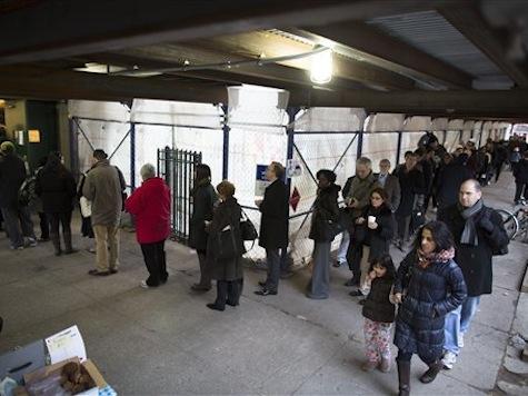 POTUS Promises To Take Away Long Voting Lines