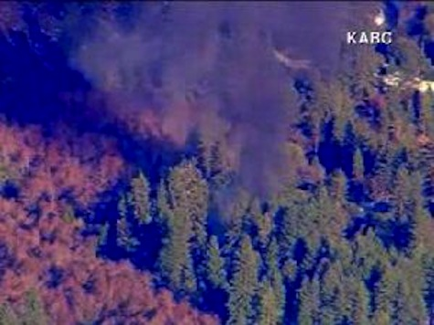 RAW: Christopher Dorner Stand off Cabin Engulfed in Flames
