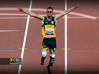 Olympic Track Star Pistorius Arrested For Murder