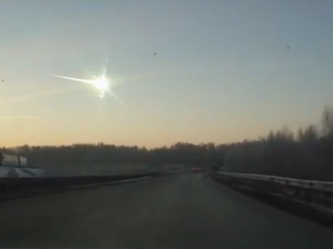 Meteor Hits Russia