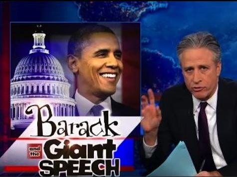 Jon Stewart Tears Into Obama's SOTU: 'Who's Running This Sh*thole'