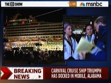 NBC News Reporter Stops Cruise Passenger From Quoting Bible Verse