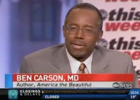 Dr. Ben Carson On Presidential Run: 'I'll Leave That Up To God'