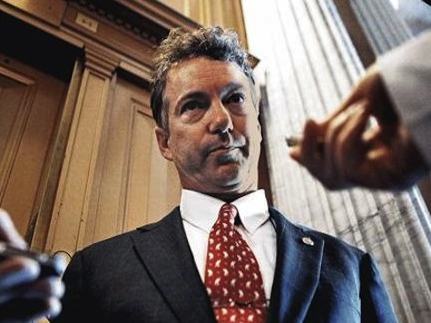 Senator Rand Paul Sequester is Obama's Hammer