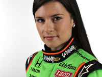 Danica Patrick Talks Making NASCAR History