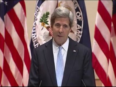 Kerry: I Can't Be 'Credible' Diplomat If We Have Political Fights Over Budget
