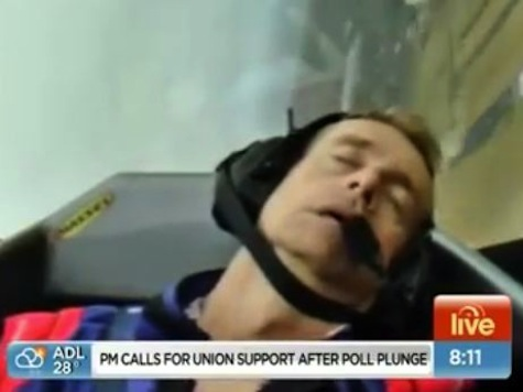 Weatherman Blacks Out During Live Report From Stunt Plane