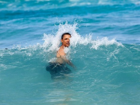 Local Anchor Asks Obama Hard-Hitting Questions on Surfing, Sushi