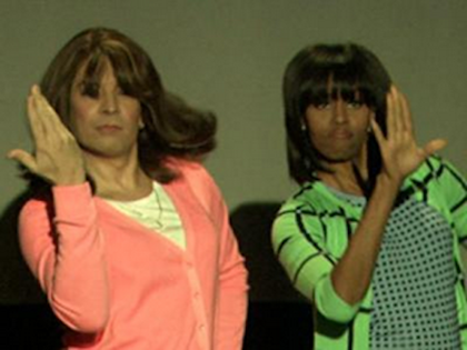 FLOTUS Dances On 'Fallon'