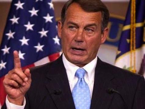 Boehner Tells Senate To 'Get Off Its ASS!'