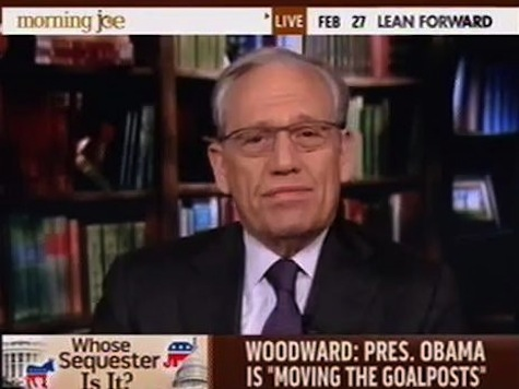 Woodward: Sequester 'Kind Of Madness I Haven't Seen In A Long Time'
