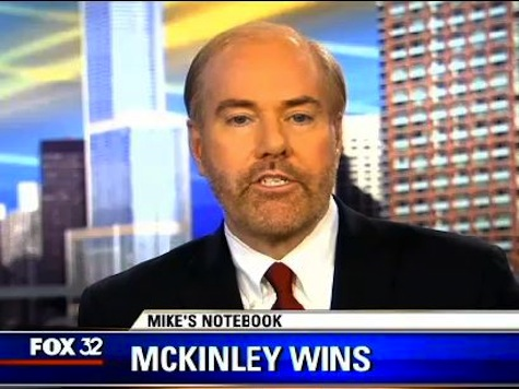 FOX 32 Sunday Reporter`s Notebook: Paul McKinley and Breitbart.com