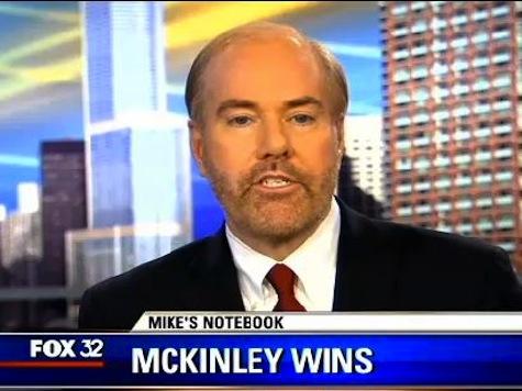 FOX 32 Sunday Reporter`s Notebook: Paul McKinley and Breitbart.com
