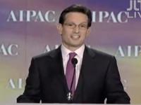 Eric Cantor Praises Hoyer, Slams Obama At AIPAC