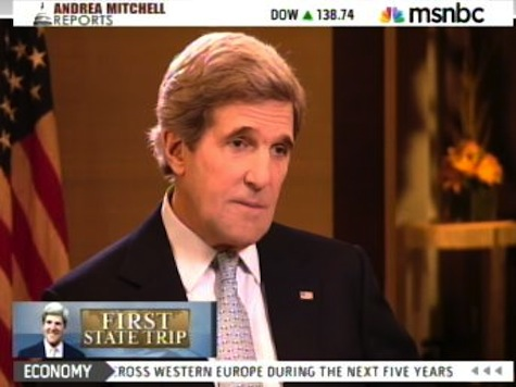 Kerry 'Delighted' To Take Orders From Obama