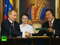 Russia Today Makes Lovey-Dovey Tribute To Chavez