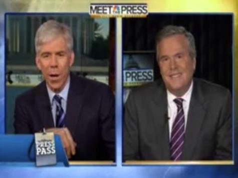 Jeb Bush Calls David Gregory 'Crack Addict'