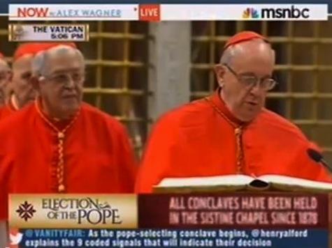 MSNBC Analyst: Vatican Like 'Communist Party'