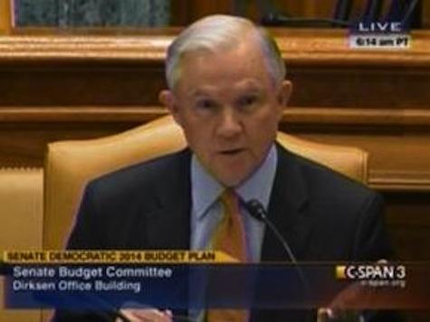 Senator Sessions Shreds Author Over Phony Budget