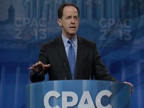 Senator Pat Toomey's Full CPAC Speech