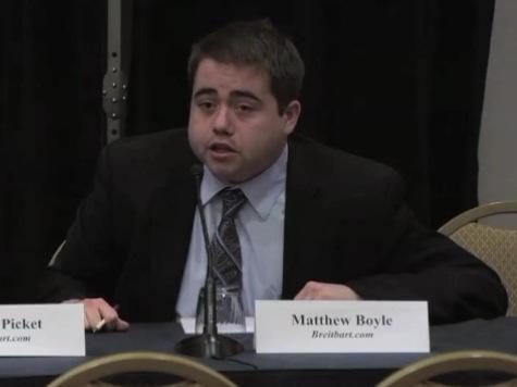 Breitbart's Boyle Talks Permanent Political Class Dodging Press