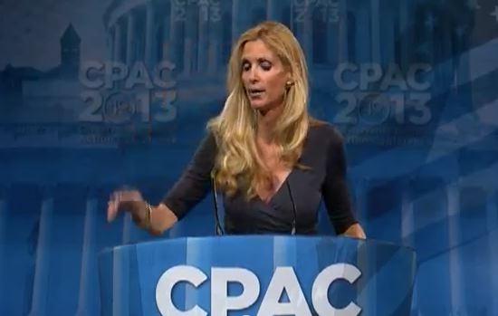 Ann Coulter Rocks CPAC 2013
