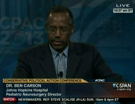 Dr Ben Carson: Libs Called Me 'N-Word' After Criticizing Obama
