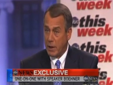 Boehner Caves: Debt 'Not An Immediate Problem'