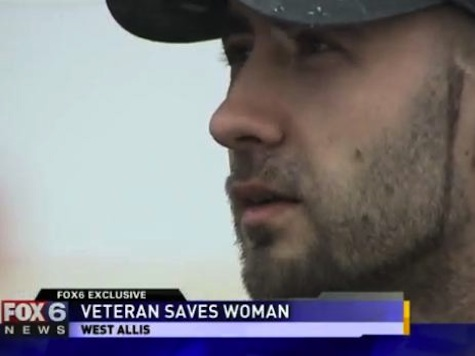 Marine Saves Woman From Brutal Beating