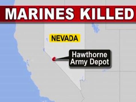 Explosion During Training Kills Seven Marines in Nevada