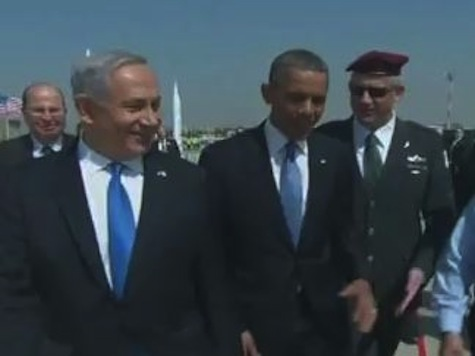 Obama Jokes About Netanyahu's Red Line