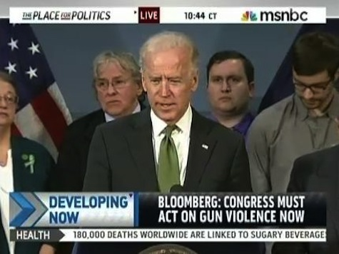 Biden: Americans Already Think Anti-Gun Bills Are Law