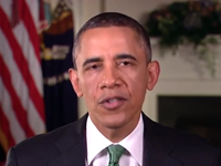 Obama's Weekly Address Slams Reid For No Vote On Assault Weapons Ban