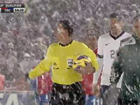 USA Beats Costa Rica Amid Heavy Snow