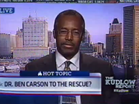 Dr. Carson: 'People Keep Trying To Put Me Into Politics, And I Really Don't Want To Do It'
