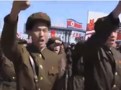 North Korea Holds Massive 'Death To U.S.' Rally