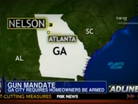 GA Town Requires Homeowners To Own Firearm