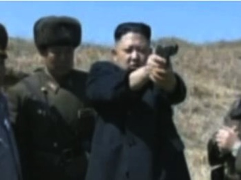 North Korea Releases Video Of Kim Jong-un Firing Handgun