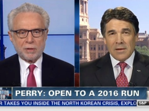 Rick Perry 'Indeed' Open to 2016 Bid