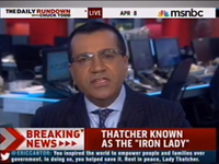 NBC Host: Thatcher 'Embodied' 'Selfishness'