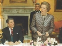 Watch: Thatcher Visits Reagan at Rancho del Cielo