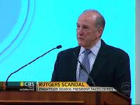 Rutgers President Under Fire