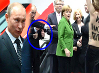 Putin Gives Topless Protester Two Thumbs-Up: 'I Liked It'